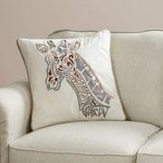 World Menagerie Altenwald Anthracite Cotton Flax Jute Throw Pillow