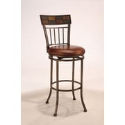 World Menagerie Madhavan 24'' Swivel Bar Stool