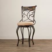 World Menagerie Zamudio 24'' Swivel Bar Stool
