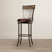 World Menagerie Madhavan 30'' Swivel Bar Stool