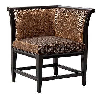 World Menagerie Mustafa Corner Side Chair