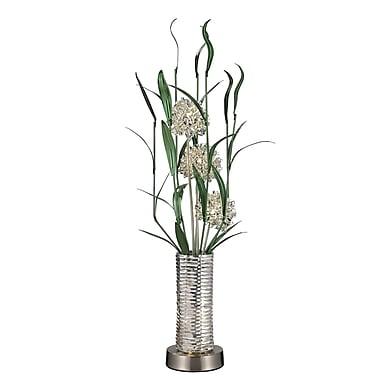 Bloomsbury Market Adalwen Floral 39'' Floor Lamp
