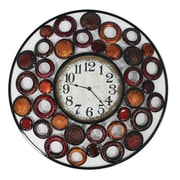 World Menagerie Circles Clock