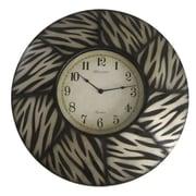 World Menagerie 8 Paneled Zebra Clock