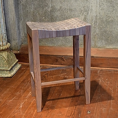 World Menagerie Angelica 30'' Bar Stool; Grey