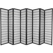 World Menagerie Noan 69.5'' x 136'' Window Pane 8 Panel Room Divider