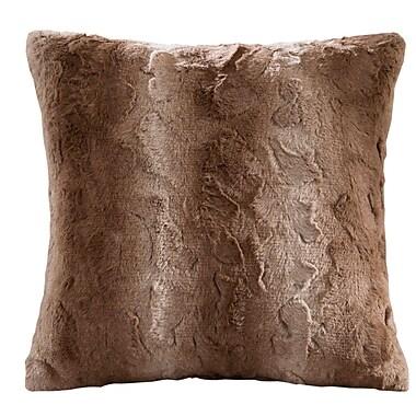World Menagerie Cosima Throw Pillow; Tan