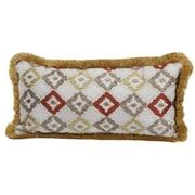 World Menagerie Albion Woven Cotton Lumbar Pillow