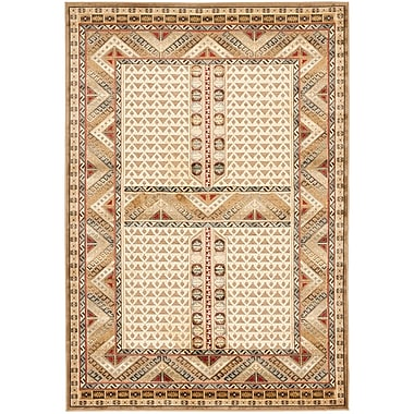 World Menagerie Linden Ivory Area Rug; 8' x 11'2''