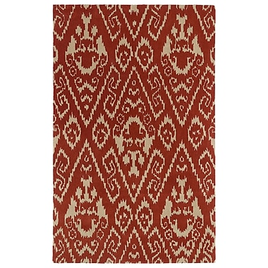 World Menagerie Rodeo Salsa Area Rug; 5' x 7'9''