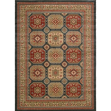 Bloomsbury Market Quoizel Gold/Red Area Rug; 7'10'' x 10'10''