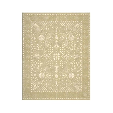 Bloomsbury Market Veda Hand-Tufted Gold Oak Area Rug; 5'6'' x 7'5''