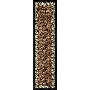World Menagerie Leif Light Brown Area Rug; Runner 2'7'' x 10'
