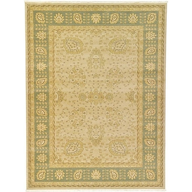 World Menagerie Fonciere Cream Area Rug; 9' x 12'