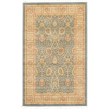 World Menagerie Fonciere Light Blue Area Rug; 10'6'' x 16'5''