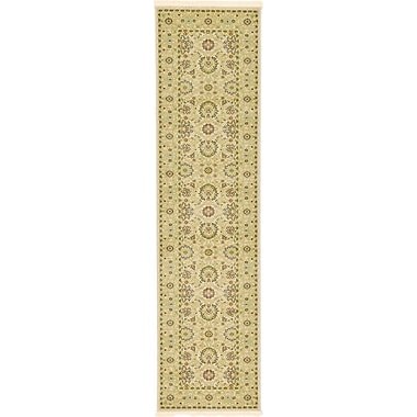 World Menagerie Willow Beige Area Rug; 2'7'' x 10'