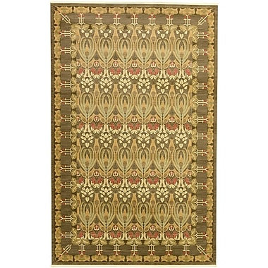 World Menagerie Willow Brown Area Rug; 10'6'' x 16'5''