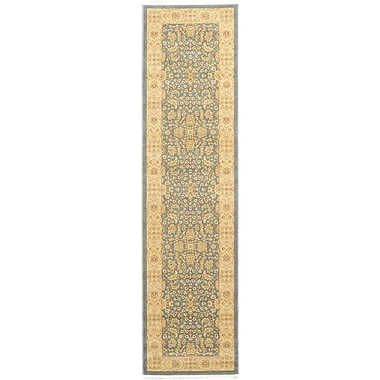World Menagerie Willow Blue/Beige Area Rug; Runner 2'7'' x 10'