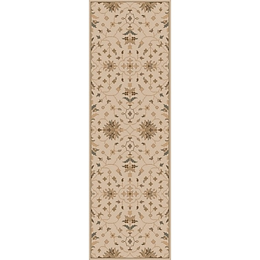 World Menagerie Topaz Beige Area Rug; Oval 8' x 10'