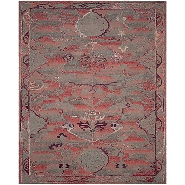 Bloomsbury Market Harrelson Hand-Tufted Red Area Rug; 4' x 6'