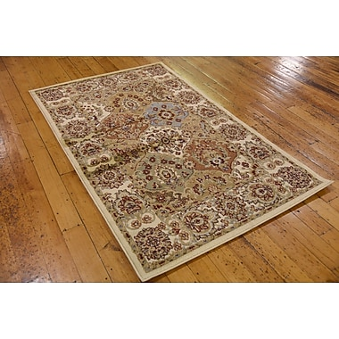 World Menagerie Janiyah Cream Area Rug; 10'6'' x 16'5''