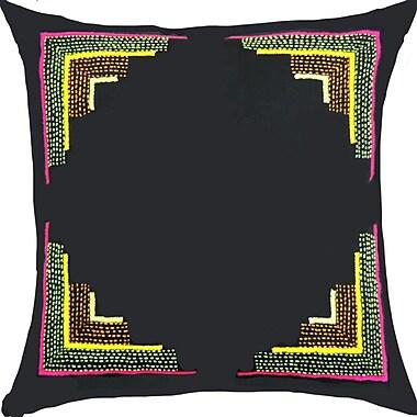 Bloomsbury Market Pallavi Handcrafted Cotton Throw Pillow