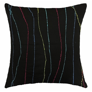Bloomsbury Market Pallavi Riot Handcrafted Throw Pillow