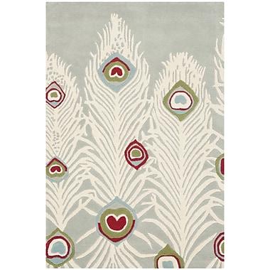 Bloomsbury Market Dorthy Grey / Ivory Rug; 3'6'' x 5'6''