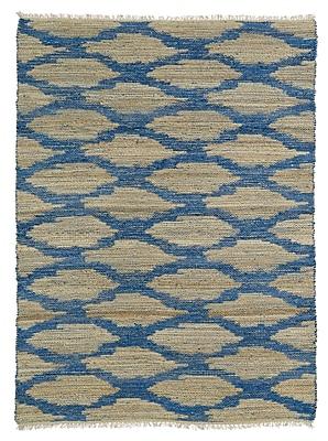 Bloomsbury Market Jamaris Beige/Blue Area Rug; 3'6'' x 5'6''