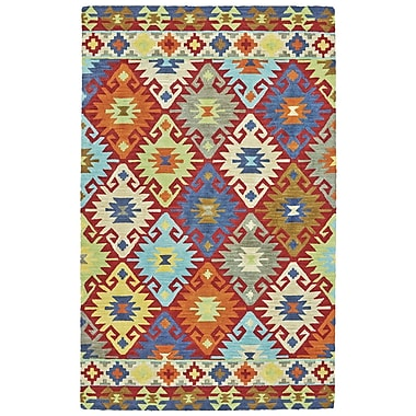 World Menagerie Farlend Hand Tufted Sunset Indoor/Outdoor Area Rug; 5' x 8'