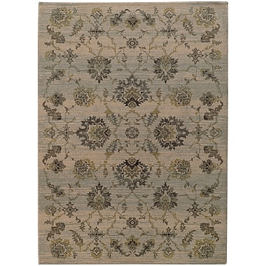 Bloomsbury Market Rubbermaid Gray/Green Area Rug; 9'10'' x 12'10''