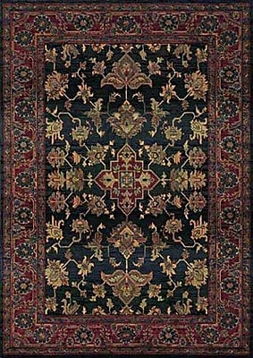 Bloomsbury Market Rosabel Traditional Blue/Red Area Rug; 2'3'' x 4'5''