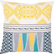 World Menagerie Alicia Pillow in Yellow