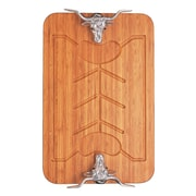 Arthur Court Western Bamboo Carving Board
