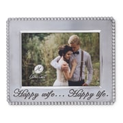 Arthur Court Happy Wife Picture Frame