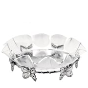 Arthur Court Butterfly 16'' Acrylic Stand Serving Bowl