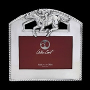 Arthur Court Equestrian Thoroughbred Picture Frame
