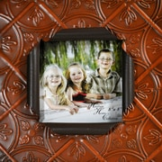 Boulder Innovations Gabi Metal Picture Frame; Pumpkin