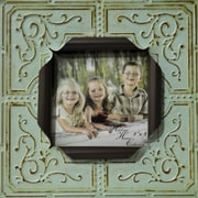 Boulder Innovations Sarah Metal Picture Frame; Blue