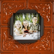 Boulder Innovations Sarah Metal Picture Frame; Pumpkin