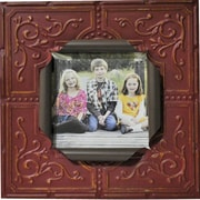 Boulder Innovations Sarah Metal Picture Frame; Red