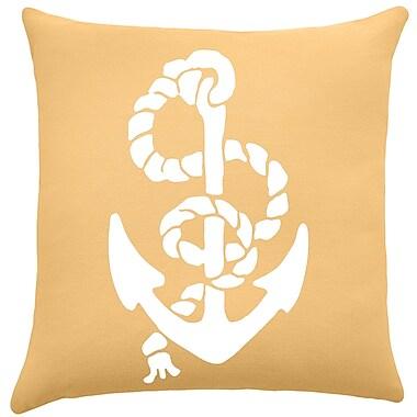 Breakwater Bay Garysburg Cotton Throw Pillow; Golden Rod