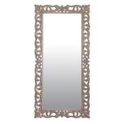 Jeffan Florence Teak Full Length Wall Mirror