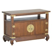 NES Furniture French Provincial Fine Handcrafted Nightstand; Walnut