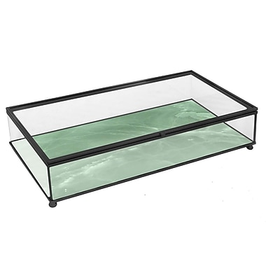 Three Hands Co. Metal and Glass Box
