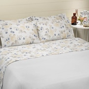 Belle Epoque Bridgeport 4 Piece 100pct Cotton Sheet Set ; King