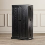 Darby Home Co Mitchell Multimedia Storage Cabinet; Black
