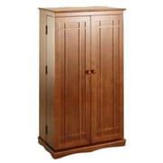 Darby Home Co Mitchell Multimedia Storage Cabinet; Walnut