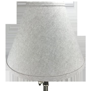 Fenchel Shades 12'' Drum Lamp Shade; Flax