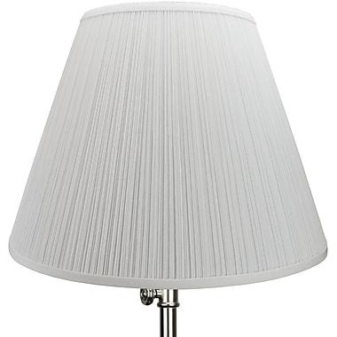 Fenchel Shades 18'' Empire Lamp Shade; Black
